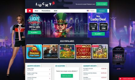 inscription lucky8 casino